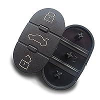 Alfaro Meo KS03A Replacement Rubber Pad 3Button Car Key Keypad Replacement Key Rubber Buttons Inion�??For Alfa Romeo (KS03A)