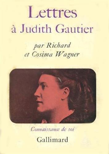 Lettres à Judith Gautier