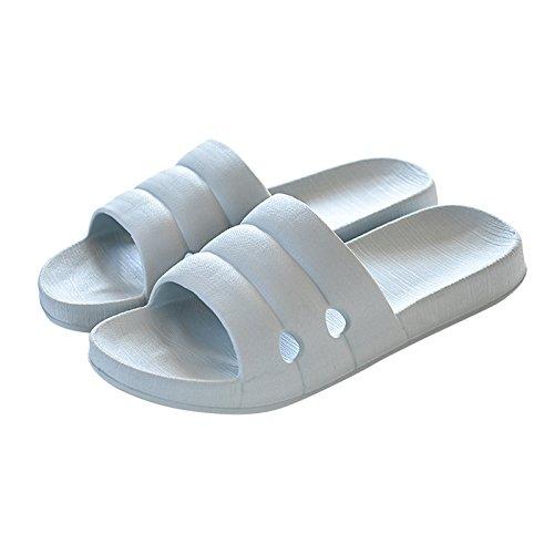a casa, pantofole, bagno?,cachi 41 / 42 grigio chiaro