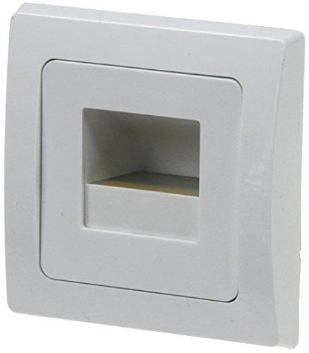 Unterputz-leuchte (LED Wandeinbau Leuchte DELPHI COB Unterputz warmweiß 1,5Watt 110Lumen für UP Dosen, Weiß)