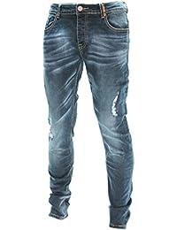 D-Skins - Jeans homme bleu Slim carrot - DK-8463