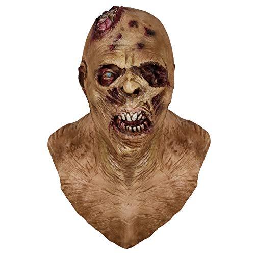 Horror Maske, Zombie Maske, Latex Biochemische Monster Maske Anzug für Kostüm Party Halloween