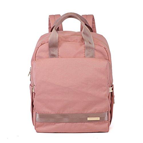 Sac à bandoulière de mode sac à main multi-fonctionnel sac à main grande capacité du sac à dos sac de bébé mère ( Couleur : Rose )
