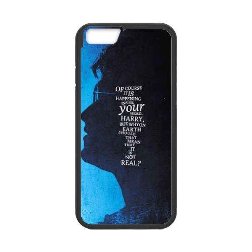 Deathly Hallows coque iPhone 6 4.7 Inch Housse téléphone Noir de couverture de cas coque EBDXJKNBO11200