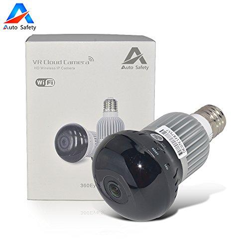 Auto-Safety-720P-10-Megapixels-P2P-IP-WiFi-Cmara-Video-Vigilancia-IR-Nocturna-de-10Mp-y-deteccin-de-movimientos-Resolucin-HD-1280-720P-Cmara-de-Seguridad-para-el-Hogar-Monitor-de-Beb-Doble-Antena