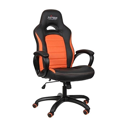 NITRO CONCEPTS C80 Comfort Gaming Stuhl - schwarz/orange