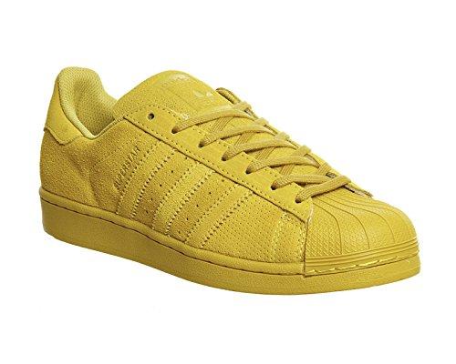 Adidas Superstar unisex niedrigen Turnschuhe AQ4167 RT eqt yellow s16/eqt yellow s16/eqt yellow s16
