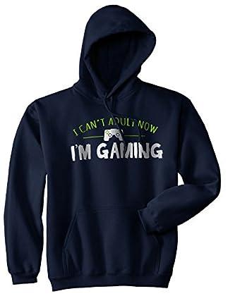 Crazy Dog Tshirts - I Cant Adult Im Gaming Funn...