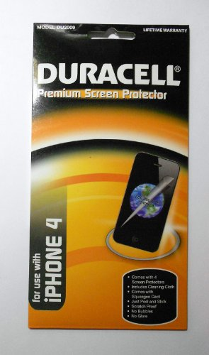 DURACELL SCREEN PROTECTOR IPHONE 4/ 4S