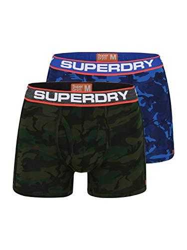 Superdry Kontrast Webbund mit Logo rundum