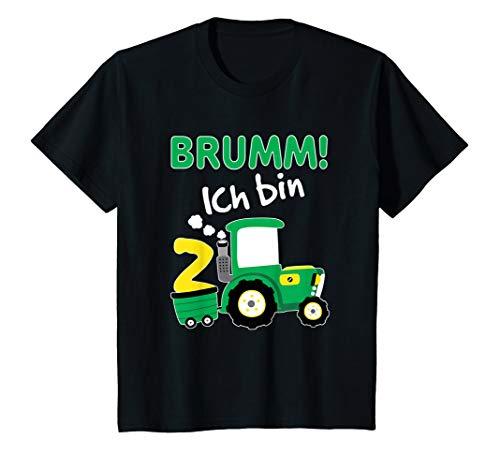 Kinder Traktor Shirt 2. Geburtstag Jungen 2 Jahre Shirt Trecker (Geburtstag Shirt 2. Traktor)