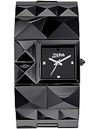 Reloj mujer JEAN PAUL GAULTIER–Over Punk Chic–Pulsera acero PVD negro–8504503
