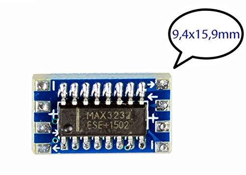 32 nach TTL Converter mit MAX3232 chip für Arduino Raspberry Pi DIY ()