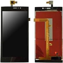 Wiko Ridge Fab 4G Compatible Lcd digitalizador Touch Screen Pantalla Cristal Negro