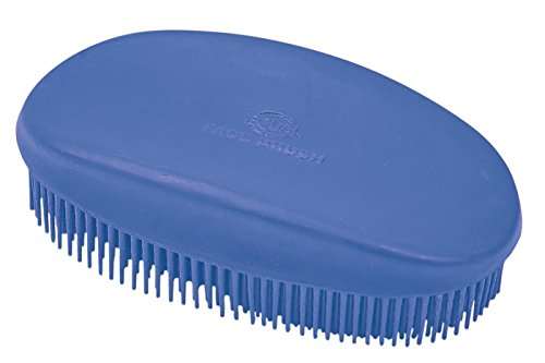 Busse Kopfbürste Gummi royal-blau 12,5x7cm