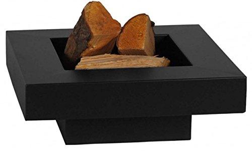 *FARMCOOK Feuerschale PAN-5 schwarz lackiert in drei Größen (80x80x22 cm)*