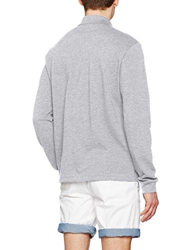 Lacoste Herren Poloshirt L1312 Grau (Argent Chine)