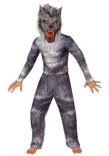 Big Boys' Werewolf Costume Small (4-6) by LF Products Pte. - Werewolf Boy Kostüm