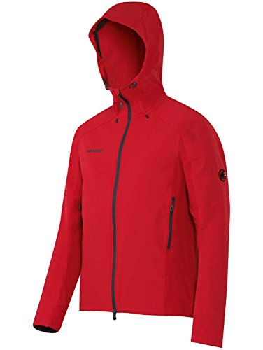 Mammut Base Jump SO Hooded Jacket lava