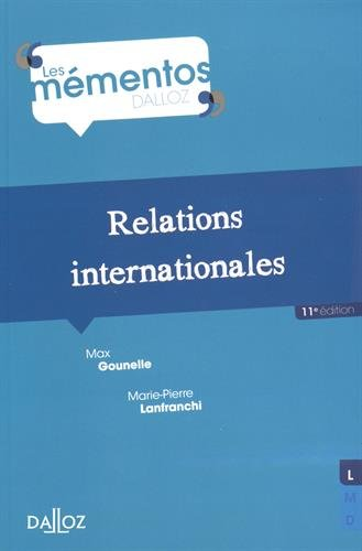 Relations internationales - 11e éd.