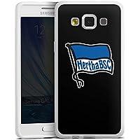 Samsung Galaxy A5 (2015) Silikon Hülle Case Schutzhülle Hertha Bsc Fanartikel Football