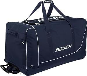 Bauer Eishockeytasche Wheel Bag Core M, Schwarz/Rot, 1041730