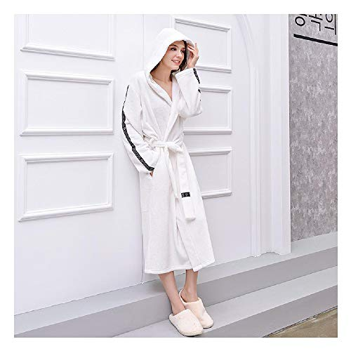 Para Mujer Suave Fleece Albornoz Postal Escudo Frontal