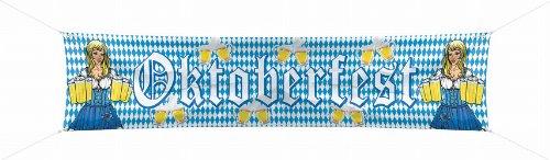 Folat 20981 - Straßenbanner Oktoberfest, 180 x 40 cm