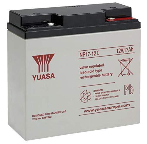 Yuasa NP17-12 Batteria 12V 17Ah batteria al piombo acido sigillate piombo acido AGM approvazione pile tecnologia VDS