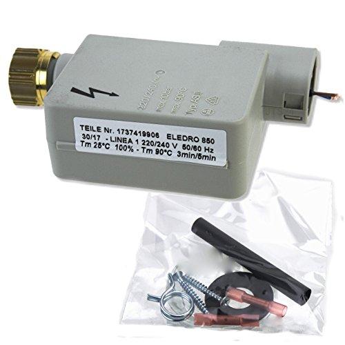 DeClean Magnetventil Aquastop Einlassventil Zulaufschlauch Ersatz für 091058 Bosch Siemens Geschirrspüller Spüllmaschine