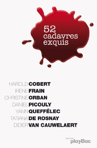52 cadavres exquis (P.BAC CAL.ADULT)