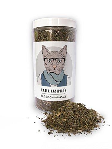Katzenminze (Catnip) Macht Ihre Katze froh! 60g XXL-Pack. Premium-Qualität Minze für Ihren Kleinen Schatz (geschnitten, getrocknet). Als Katzensnack oder für Katzenspielzeug geeignet