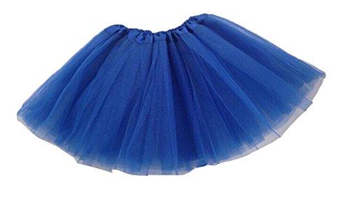 niceeshop(TM) Kinder Mädchen Modern Ballett Verkleiden Fee Tutu Rock, Königsblau, One - Blaue Fee Kostüm Kind