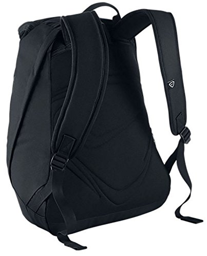 Nike Club Team Swoosh Backpack Casual Daypack  45 cm  37 liters  Black  White