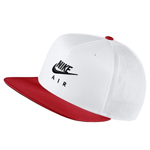Nike Pro Air Casquette Taille Unique White/University Red/Black