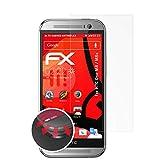atFolix Schutzfolie passend für HTC One M8 / M8s Folie, entspiegelnde & Flexible FX Bildschirmschutzfolie (3X)