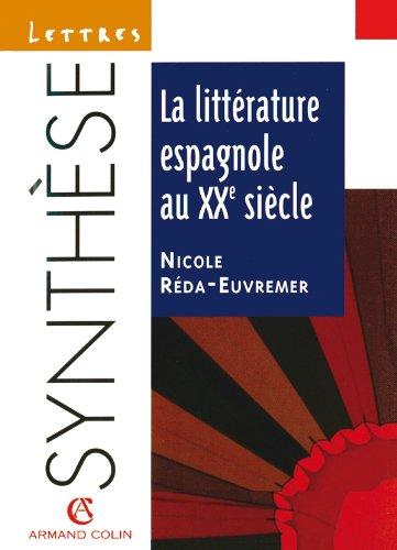 la-littrature-espagnole-au-xxe-sicle