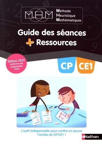 Méthode heuristique mathématiques CP-CE1 : Guide des séances + Ressources par Nicolas Pinel