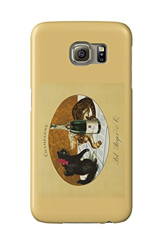 champagne-pol-roger-c-1921-vintage-poster-galaxy-s6-cell-phone-case-slim-barely-there
