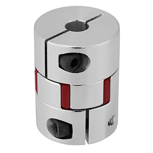 7mm bis 13mm welle plum geformt elastische kupplung kuppler, aluminiumlegierung plum kupplung welle verbinden für schrittmotor (10mm-10mm) -