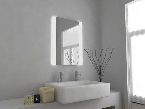 Espejo-de-Bao-Moderno-con-Luces-LED-Espejo-con-Sensor-Anti-Empaado-Con-Enchufe-para-Maquinillas-Afeitar-C1111-Cristal-Transparente-500mm-x-390mm