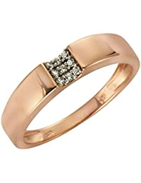 Ellen K. - Bague - Or rose - Oxyde de Zirconium - 371370450-2-054