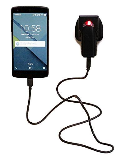 Navitech Chargers Sektor Secteur UK haute puissance Blackberry Z10