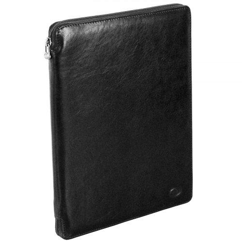 The Bridge Unisex adulto Large Desk Pad carte d' identità e carta, guscio nero (2020), 24x 32x 1cm Schwarz (20 20)