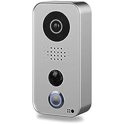 Portier vidéo IP wifi Doorbird D101 Argent