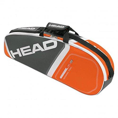 Head Core Pro Tasche für 3Schläger, Core Pro, Gris/Orange