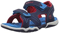 Timberland Adventure Seeker 2 Strap, Boys' Sandals, Navy/Blue/Red, 7 UK Child