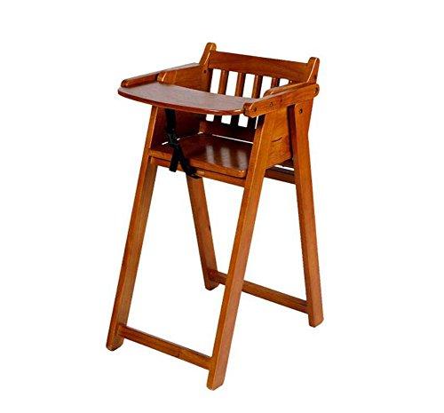 TTrar tragbarer Klappstuhl Massivholz Kinderhochstuhl, Esstisch, multifunktionale tragbare zusammenklappbare Stühle Baby Essen Esszimmerstuhl Sitz Praktisch und praktisch
