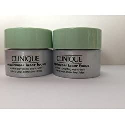 Clinique Repairwear Laser Focus Wrinkle Correcting Eye Cream 0.17oz/5ml*2