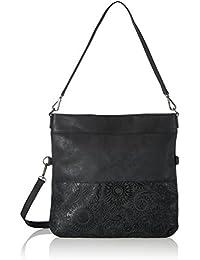 s.Oliver (Bags) - 39.710.94.6002, Bolsos maletín Mujer, Schwarz (Black/schwarz), 3x33x32 cm (B x H T)